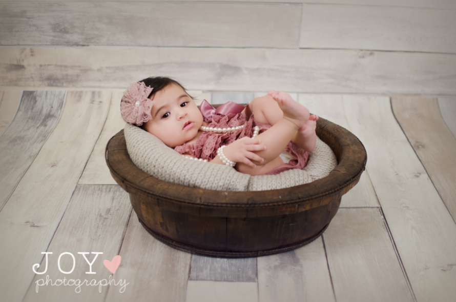 Toledo Rossford Sylvania Baby Photographer 3 month session-4