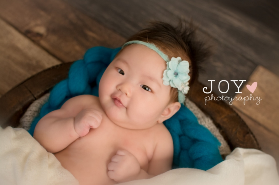 3 month old baby girl 4 month old baby girl chung asian baby girl joy photography ohio photographer michigan photographer-2