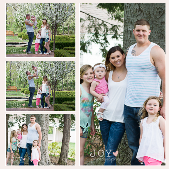 joy photography family session toledo ohio wildwood metro park
